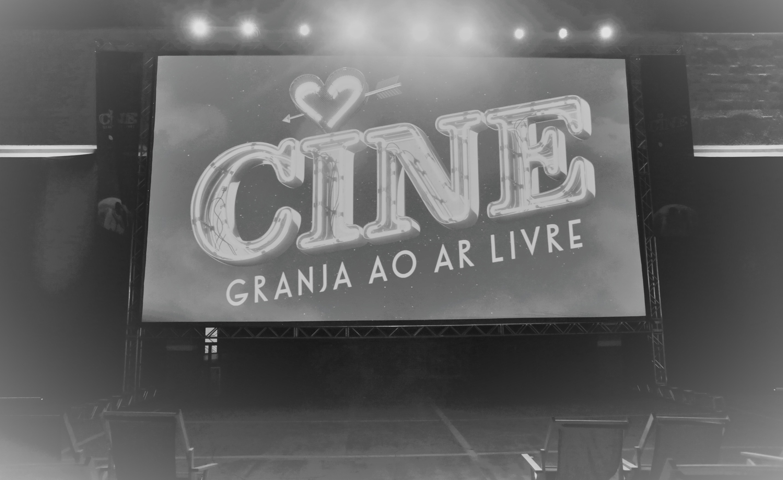 Over a thousand clients enjoy Cine Granja ao Ar Livre